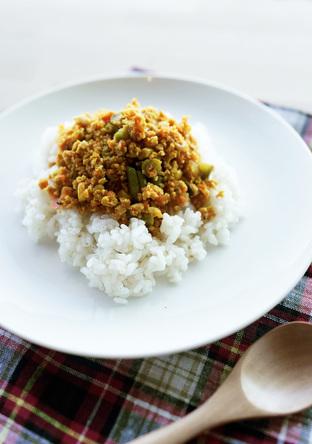 まるでお肉 高野豆腐でドライカレー