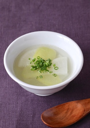 中華風 大根と生姜のスープ