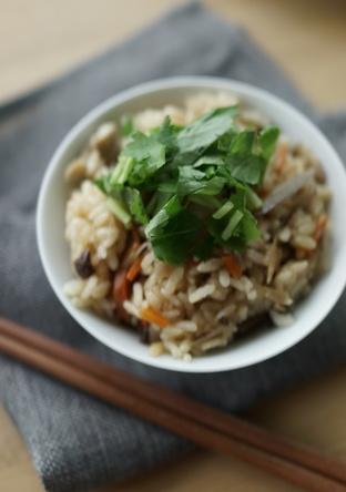 もち米入り 鶏ゴボウの炊き込みご飯