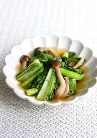 ほっこり和惣菜 小松菜としめじの煮浸し