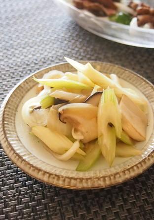 エリンギとセロリのほっとする副菜