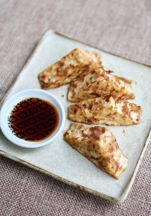 お豆腐のおかか焼き