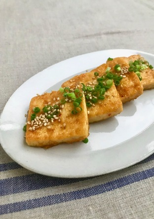 豆腐なのにご飯がすすむ 簡単豆腐ステーキ