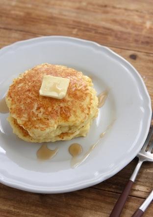 HM豆腐ヨーグルトの簡単ふわふわホットケーキ