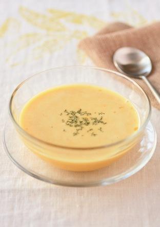 ミキサー不要 簡単 牛乳でかぼちゃスープ