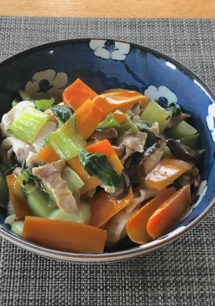 野菜たっぷり 中華丼