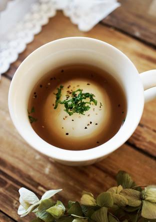 かぶの丸ごとスープ