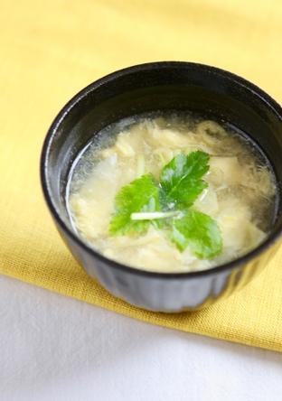 簡単 お助け節約 ふわふわ卵スープ