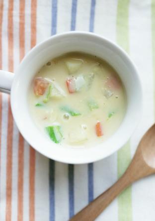じゃがいものホワイトスープ