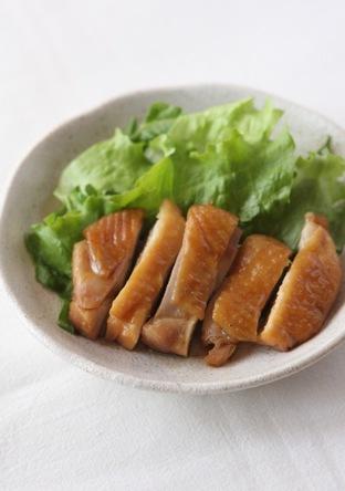 レンジで簡単 鶏ももの照り焼き