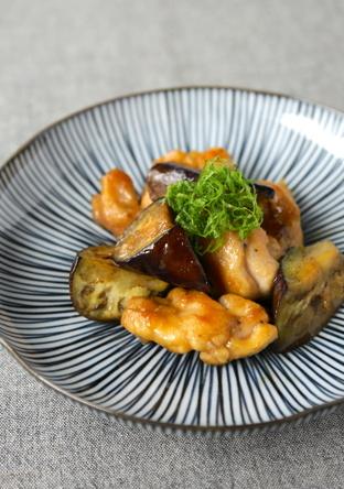 ごはんがすすむ 鶏肉と茄子の南蛮煮