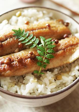 魚を美味しく 花椒風味のイワシ丼