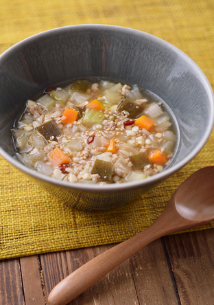 昆布の繊維たっぷりスープ