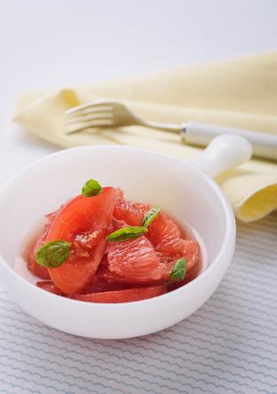 トマトとグレープフルーツのマリネ