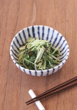 水菜大量消費 塩昆布で簡単ナムル