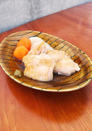 鶏と根菜の含め煮 柚子胡椒ぞえ