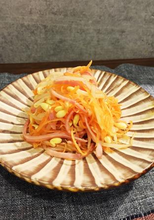 千切り野菜の中華サラダ