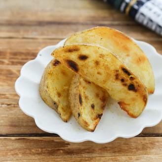 カレー風味の塩バターポテト