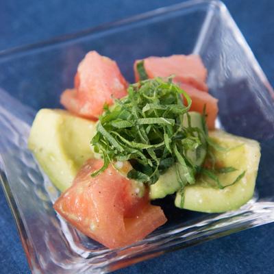 アボカドトマトの美肌サラダ