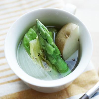 春野菜のごろっとスープ