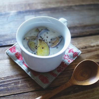 マッシュルームのチャウダー風スープ