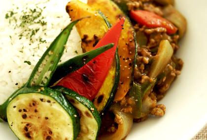 おうちでランチ 夏野菜カレー