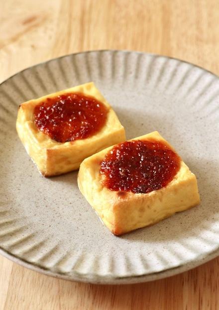 焼き豆腐の田楽風