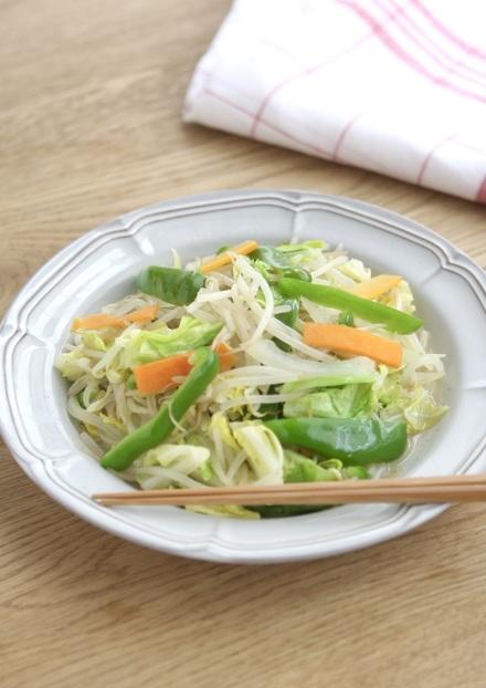 たっぷり野菜炒め