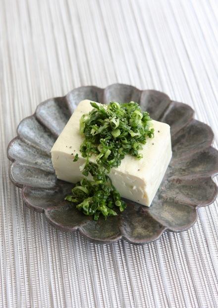 ねぎ塩豆腐