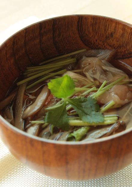 野菜たっぷり 沢煮椀