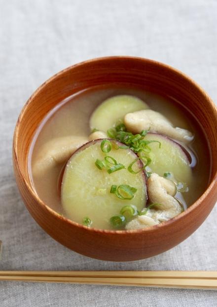 秋香る さつま芋のお味噌汁