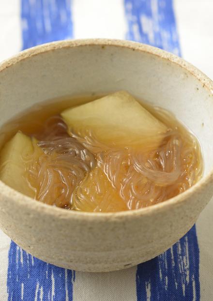 冬瓜と春雨のスープ