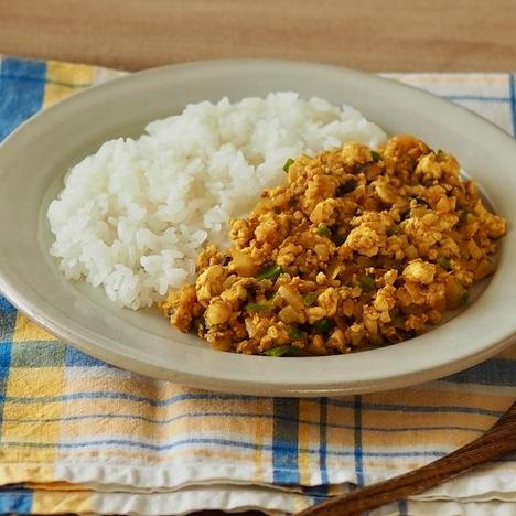 豆腐と野菜のカレー