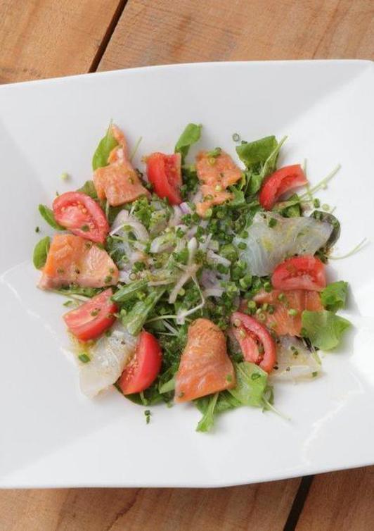 酢がきいちゃう 高知の新鮮魚介のカルパッチョ