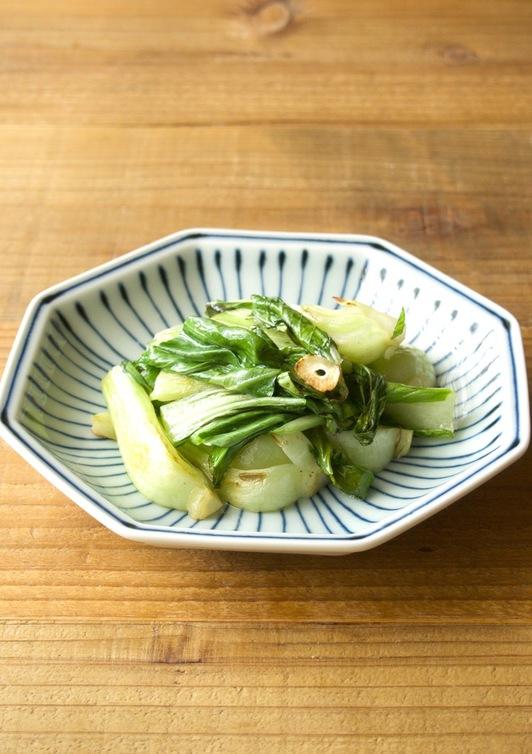 チンゲン菜の中華炒め