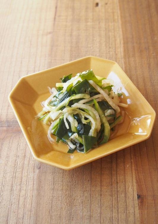 大根の中華風サラダ
