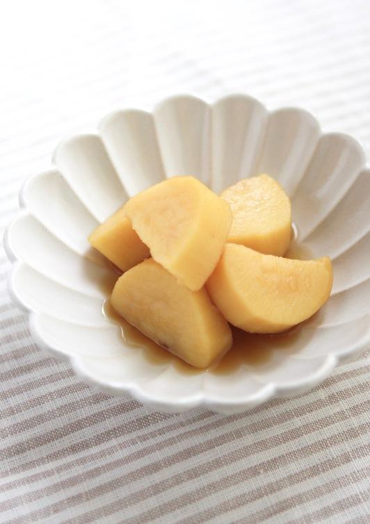 薩摩芋の蜂蜜とレモン煮