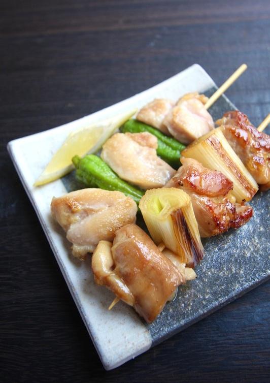 フライパンで作る 焼き鳥2種