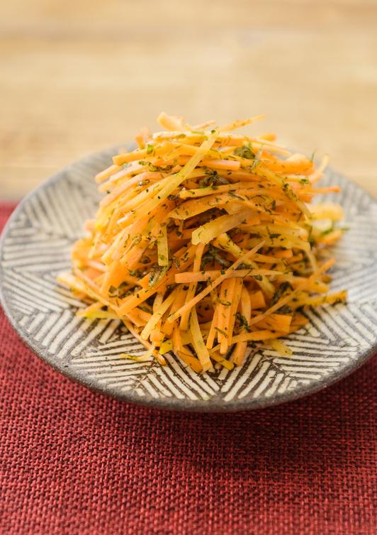 にんじんの青海苔サラダ