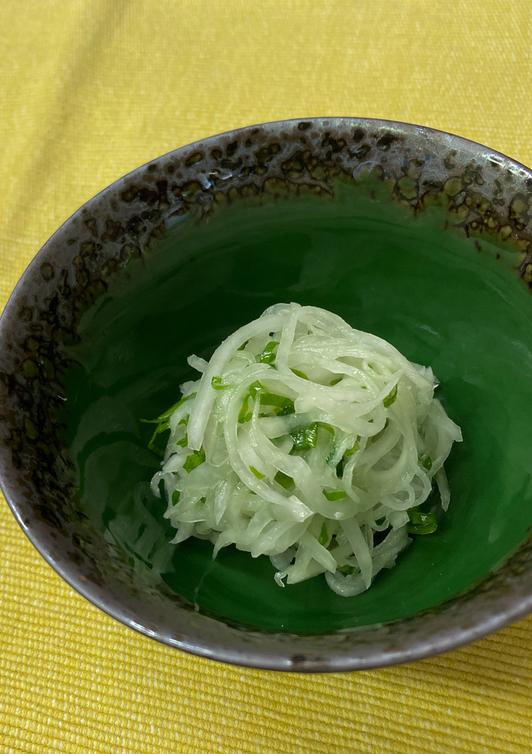 葱油羅卜絲(大根の葱油あえ)