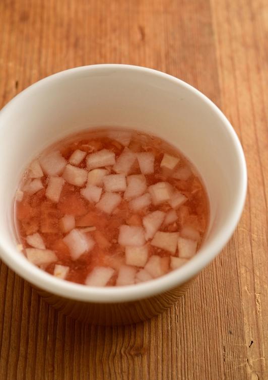 【離乳食・後期】麩とトマトのスープ