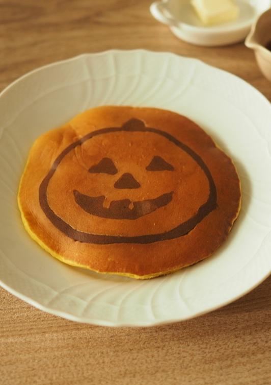 かぼちゃのホットケーキ