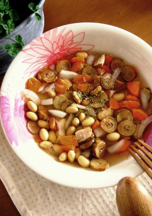根菜のスープ