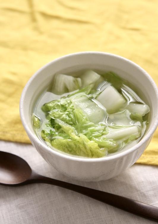 白菜だけのスープ