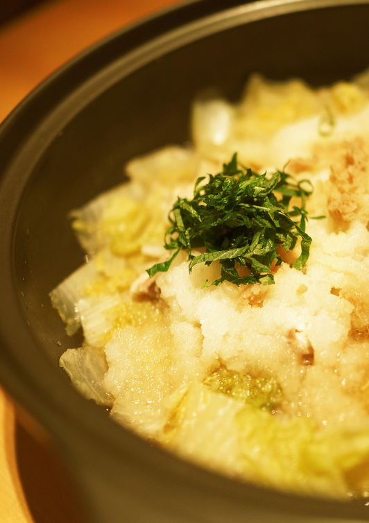 体ポカポカ 鶏と白菜の大根みぞれ鍋風
