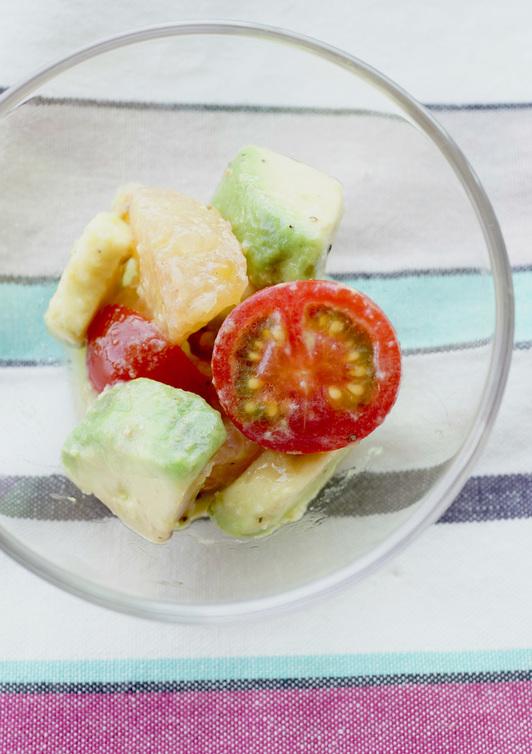 アボカドとグレープフルーツのサラダ