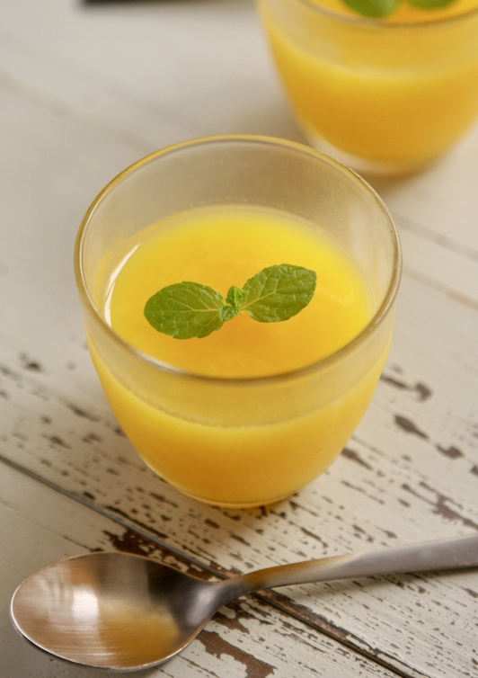 無糖 オレンジゼリー