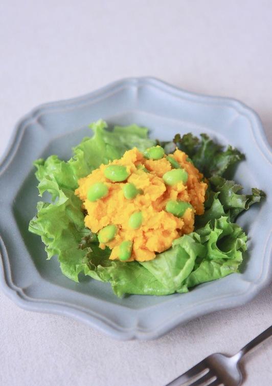 夏色 カボチャと枝豆のサラダ