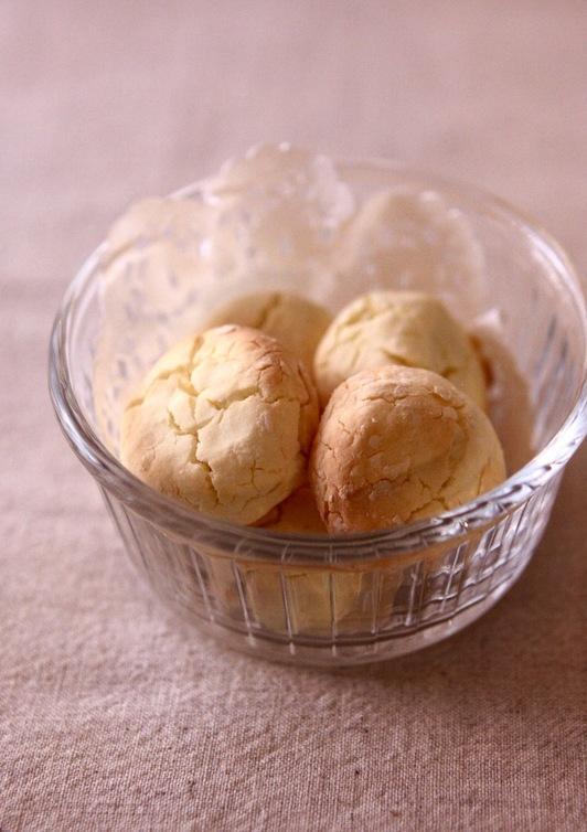 低カロ 簡単ころころ卵ボーロ