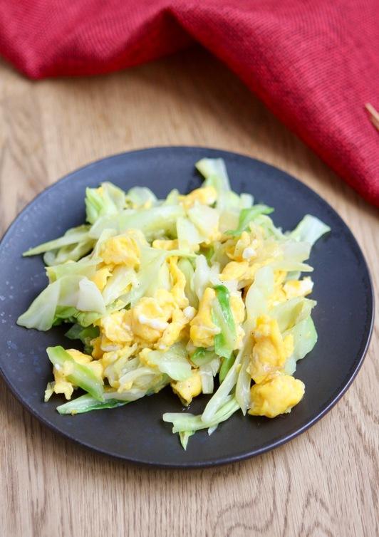 簡単 キャベツと卵だけでも美味しい中華